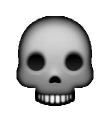 ☠ Skull and Crossbones Emoji