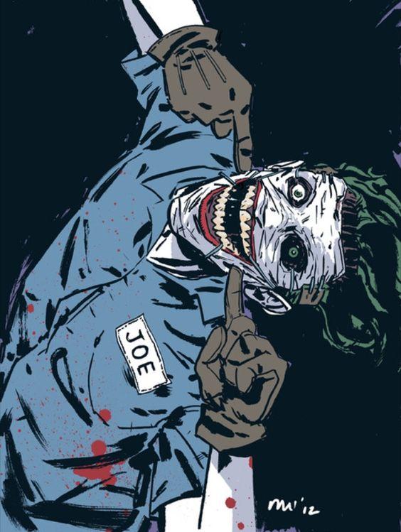 New 52 Harley Quinn And Joker New 52 Joker. | Art of...
