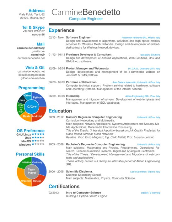 CV or Resume - ShareLaTeX, Online LaTeX Editor Resume - latex template resume