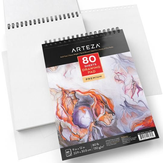 Watercolor Pad 5 5 In X 8 5 In 30 Sheets Pack Of 3 Drawing