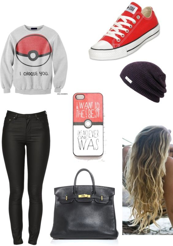 Its me Antonia who liked this Outfit but its based on Pokémon so I think I will count it as my Brothers Favorite!!: