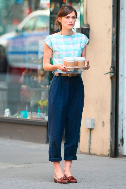 Really like her style in Begin Again (really liked the movie too)...just seems hard to pull off if you don't live in a city...