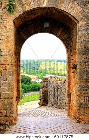 Ancient fortifications of Tuscany