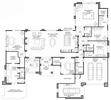 Toll Brothers Toll Brothers at Alta Optimizely Floor Plan FUN