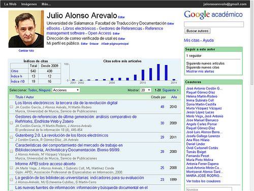 Como crear tu perfil de investigador en Google Scholar Citations | Universo Abierto