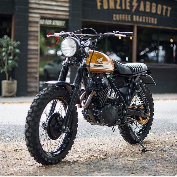 #motorcycles #scrambler #motos | caferacerpasion.com