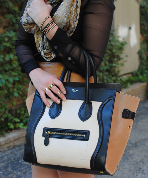 black + tan from The Style Scribe