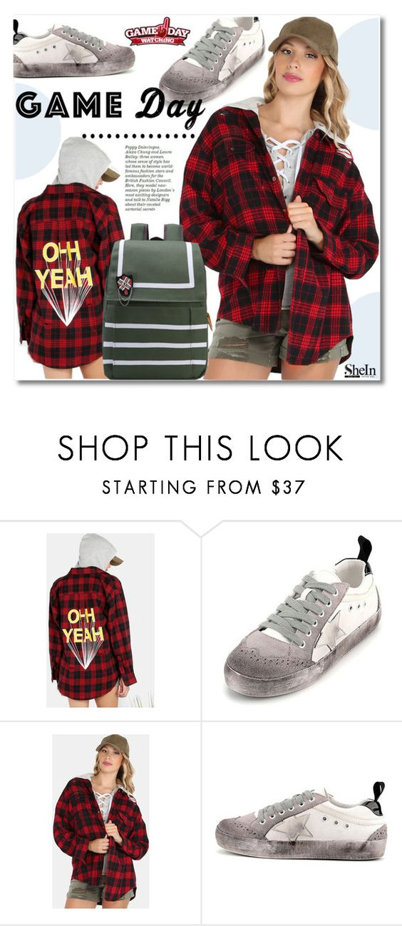"""60 Second Style: Game Day"" by svijetlana ❤ liked on Polyvore featuring WithChic, gameday, 60secondstyle and shein"