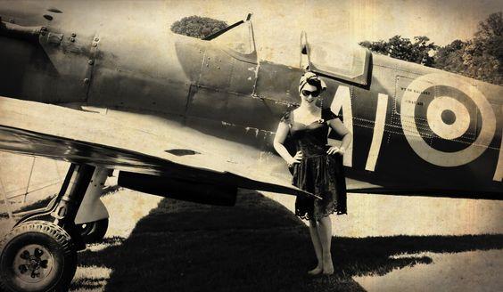 Vintage Spitfire and Me!
