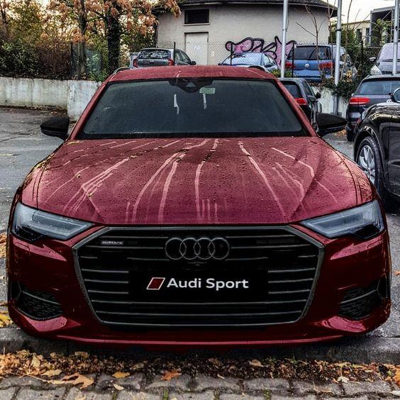 The Audi A6 C8 Avant 50 Tdi Quattro Werbung Anzeige Engin