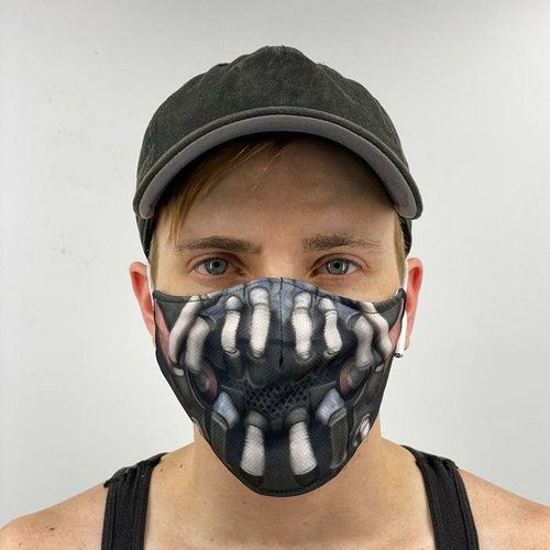 Bane Face Cover Face Mask Made In The Usa Etsy In 2020 Face Cover Face Mask Face