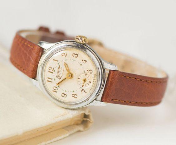 Tomboy watch Wostok East womens wristwatch rare by SovietEra
