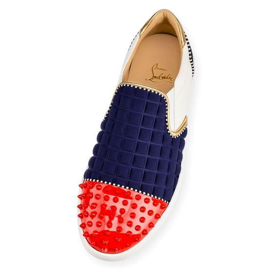 Shoes - Nazapunta Orlato Flat - Christian Louboutin