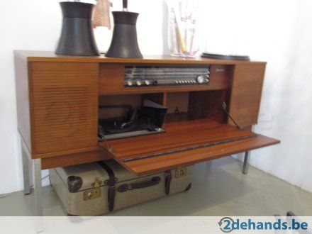 Hip retro vintage jaren 50 60 audiomeubel jaren 50 60 pinterest retro vintage and retro - Coin bureau ontwerp ...
