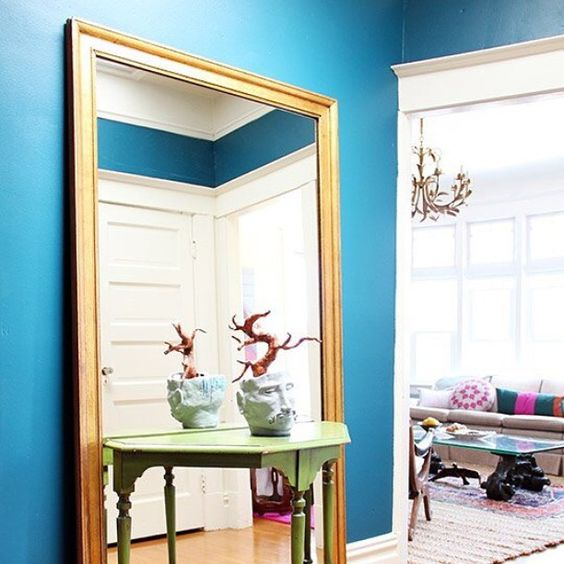 8 Steps to Color Confidence: Step #1 Go On a Color Collection Treasure Hunt (Click link above in our profile to read the post on Apartment Therapy!)