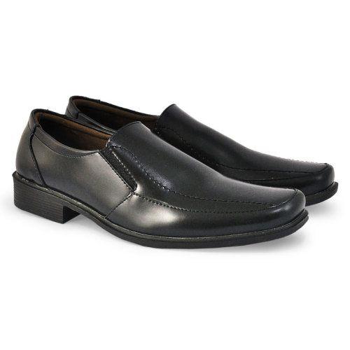 Sepatu Formal Pria Hab 003 Sintetik Hitam 39 43 Rp Sepatu