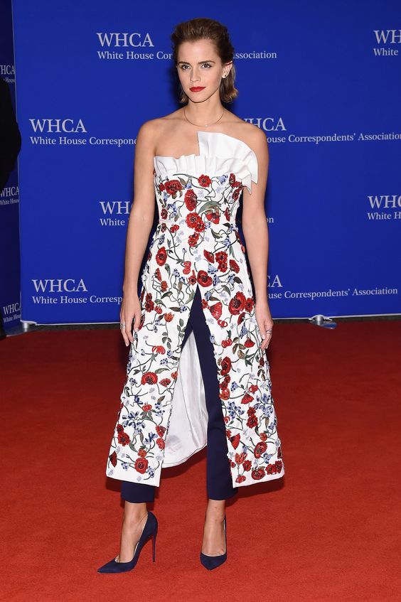 Emma Watson au White House Correspondents' Dinner