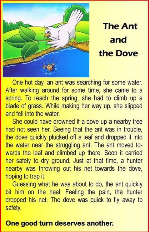 English Stories 1 | English story, English stories for kids, Short ...