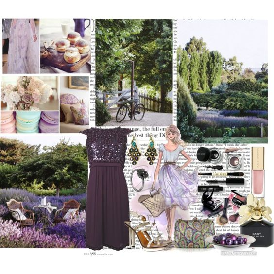 """Lavender Fields"" by jay-to-the-kay on Polyvore"
