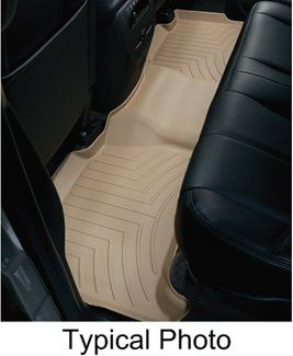 Custom molding ensures a perfect fit for each Land Rover Evoque Unique material is designed for strength and features a texture that securely grips the floor Advanced surfacing creates channels that divert fluid and debris away from shoes and clothing Single-piece liner ensures complete coverage - even over the hump Tan finish complements many interiors Made in the USA