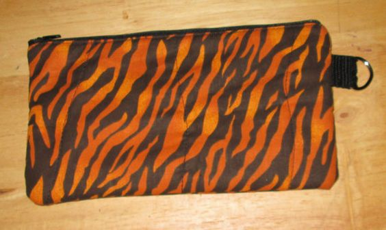 Zipper Pencil Pouch by markybell on Etsy, $8.00