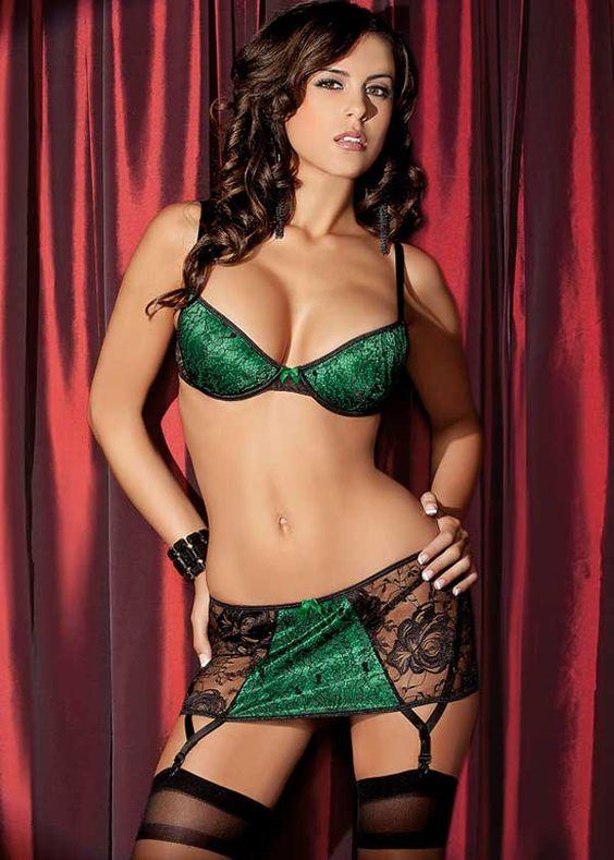 Plus Size Emerald Satin Corset, Plus Size Green Corset