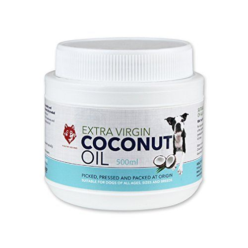 Healthy Hounds Extra Virgin Coconut Oil for Pets Dogs 500ml