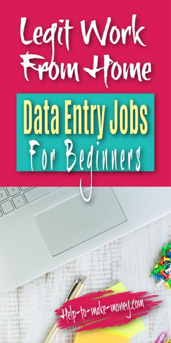 Legitimate Data Entry Jobs From Home Without Investment Data