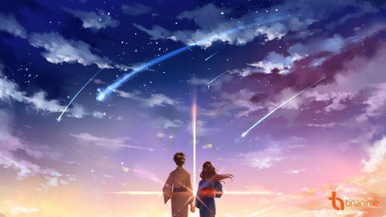 Woman Teases Kid Your Name Anime Kimi No Na Wa Name Wallpaper Anime wallpaper your name