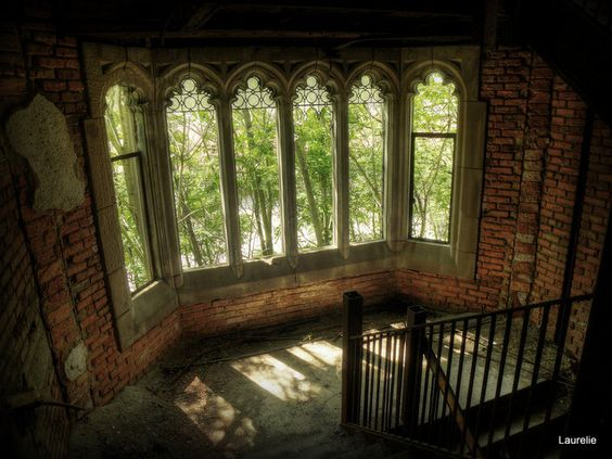 abandoned Methodist Church.
