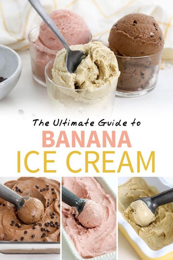 How to Make Banana Ice Cream (Nice Cream)