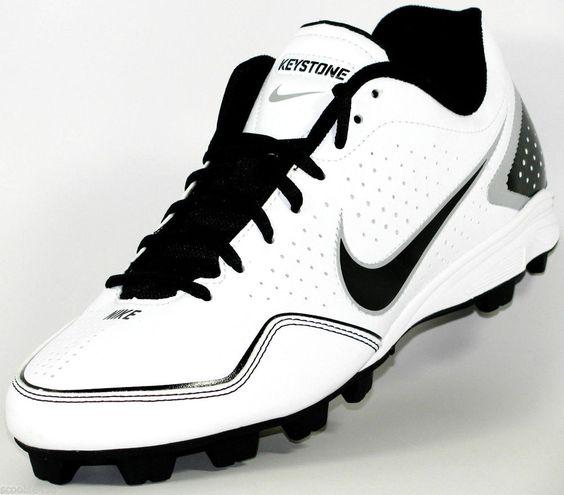 Mens Nike Keystone Low Molded Baseball/Softball Cleats Size 10