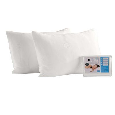 Home Fashion Designs Cooling Pillow Protector Pillow Protectors