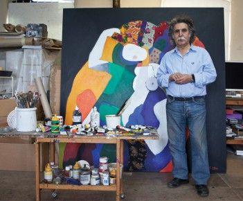 Photo of the artist, Dia Azzawi
