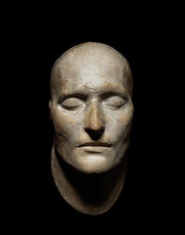 NAPOLEON DEATH MASK - History / France / Books