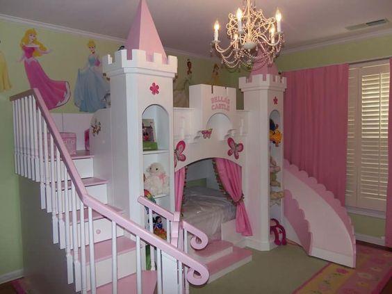 Cameretta da principessa Disney per bambine n.09