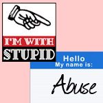 "Stuck On Stupid: Living With Abuse. 'Way before I understood that my (now ex) husband abused me, he asked me if I was stuck on stupid, and I thought to myself, ""No, I am stuck with Stupid."" ' Continue reading: www.healthyplace.com/blogs/verbalabuseinrelationships/2012/11/stuck-on-stupid-living-with-abuse/ - #Abuse #LivingWithAbuse #DomesticAbuse #DomesticViolence #KellieHolly #HealthyPlace"
