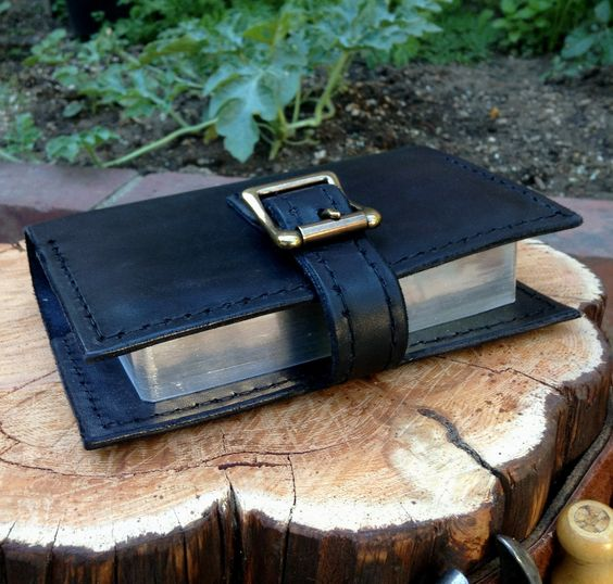 Hand made leather bible covers, crafted from high quality leather and saddle-stitched with Marine HD UV resistant thread