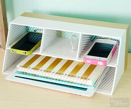 Organize Your Home Office On A Dime Desk Organization Diy Diy