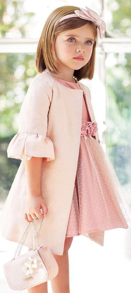 Special Occasion Dresses Dashin Fashion Rose Pink Dress Girls Designer Dresses Little Girl Dresses