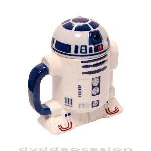 Siempre has querido tener tu propio R2D2 en casa y no sabías cómo hacerlo?Te presentamos una taza de té genial hecha en cerámida de alta calidad con tapadera que asegura tu bebida calentita durante mucho más tiempo