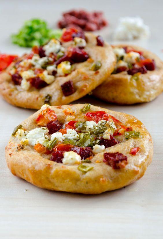 Mini Pizzas for Breakfast Recipe Mini Pizzas, Pizza and Minis