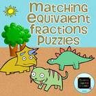 Equivalent Fraction Match Up {Puzzles & Worksheets}