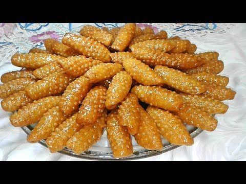 حلويات رمضان حلوة الكبالة الشبكة المعسلة لذيييذة وسهلة التحضير Youtube Food Vegetables Desserts