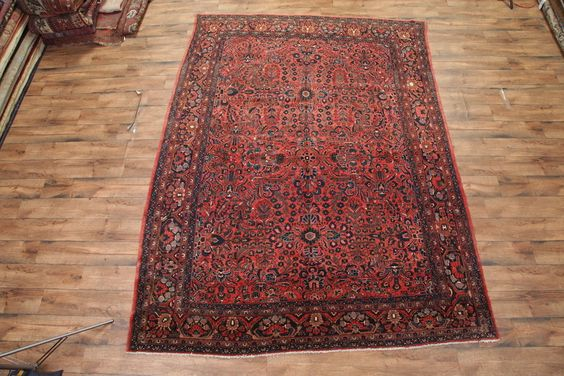 "All-Over Floral 9x12 Lilian Hamedan Persian Oriental Area Rug 11' 8"" x 8' 11"" #TraditionalPersianOriental"