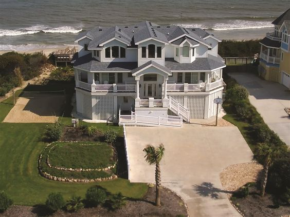Moon Shadow 297 L Corolla Nc Outer Banks Vacation Rental Home L Oceanfront Home With Ten