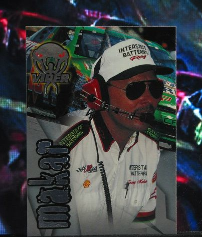 http://nascarniche.blogspot.com/  Jimmy Makar Crew Chief 1996 Wheels Viper Trading Card #32 Base Set Nascar