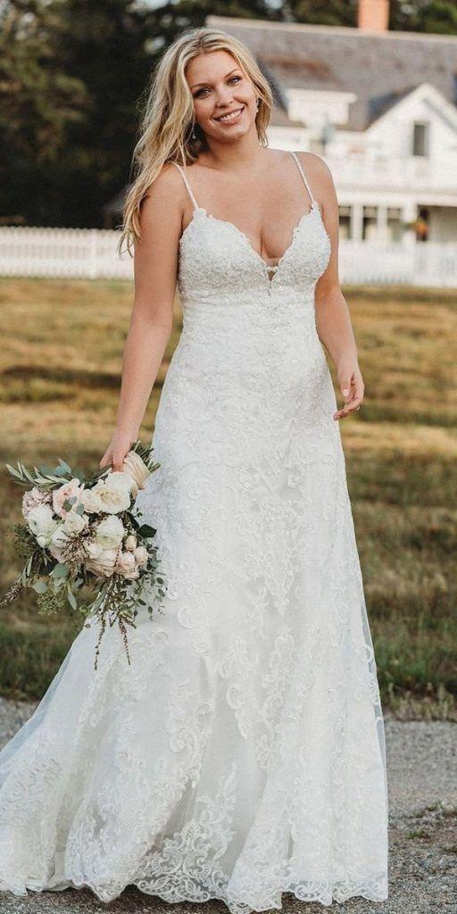 15 Lace Plus Size Wedding Dresses Wedding Dresses Guide Wedding Dresses Simple Wedding Dresses Wedding Dress Guide