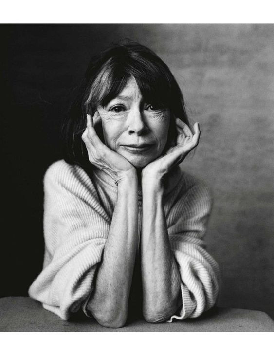 Joan Didion by Irving Penn
