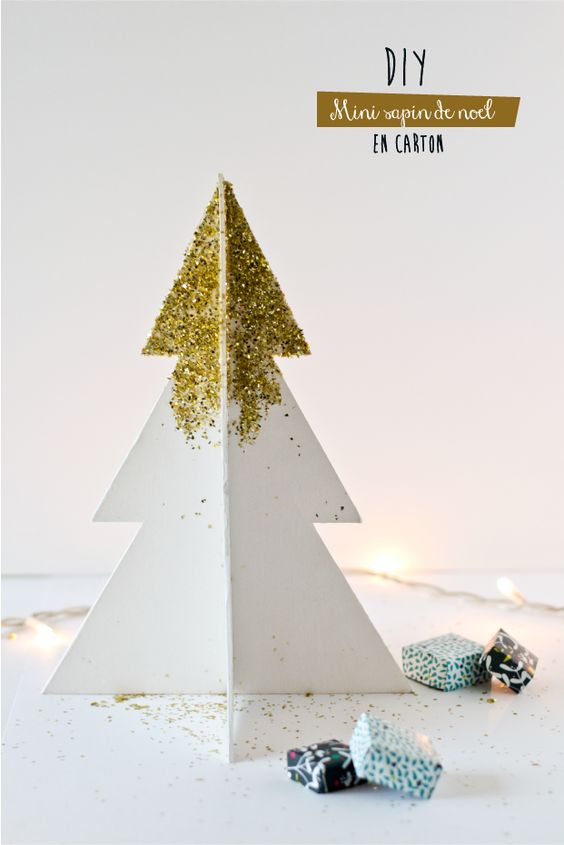 No l bricolage and arbres de no l on pinterest - Creer un sapin de noel ...